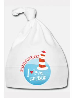 Baby-Zipfelmütze personalisiert